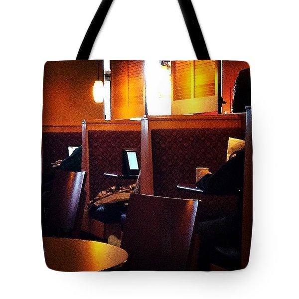 Morning News - Square Tote Bag