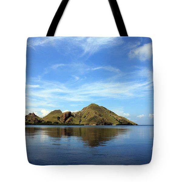 Morning On Komodo Tote Bag by Sergey Lukashin
