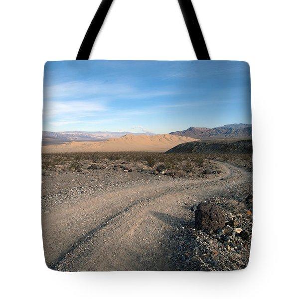 Morning On Steele Pass Tote Bag by Joe Schofield