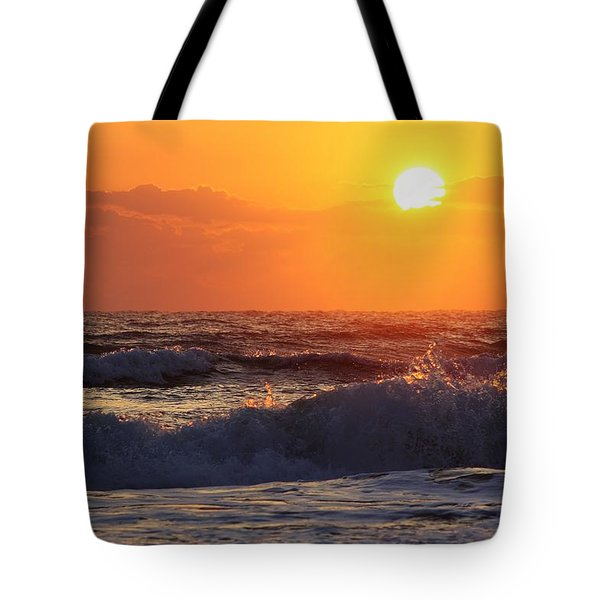 Morning On The Beach Tote Bag by Bruce Bley