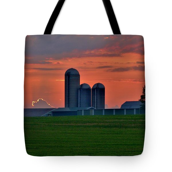 Morning Promise Tote Bag by Robert Geary
