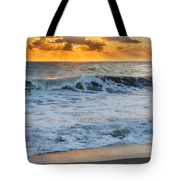 Morning Rays Square Tote Bag by Bill Wakeley