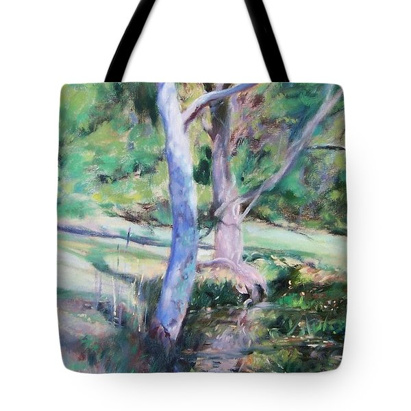 Morning Reflections Tote Bag by Bonnie Mason