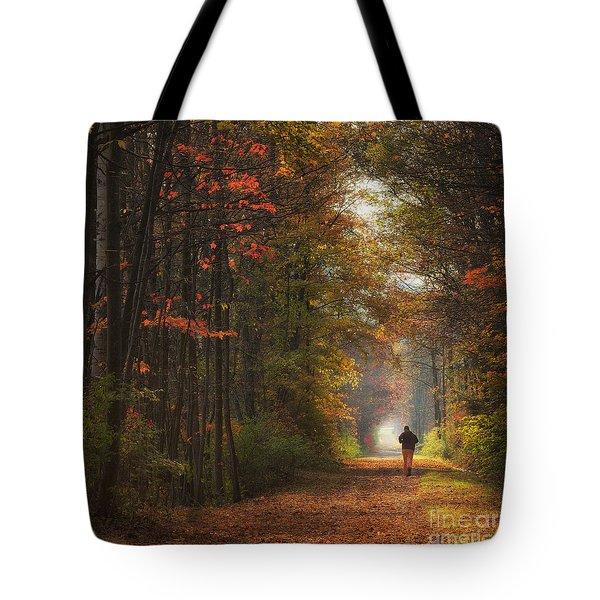 Morning Run Tote Bag