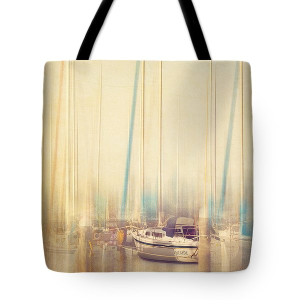 Morning Sail Tote Bag by Amy Weiss