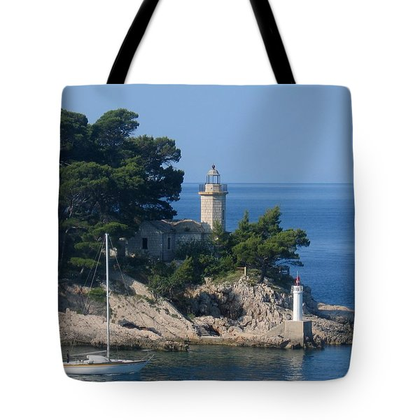 Morning Sail Tote Bag by Jennifer Wheatley Wolf
