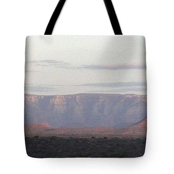 Morning Sedona.... Tote Bag