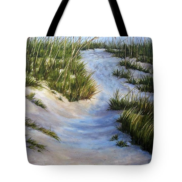 Morning Shadows Tote Bag by Mary McCullah