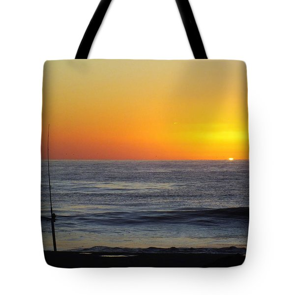 Morning Solitude Tote Bag by Karen Wiles