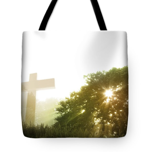 Morning Spirit Tote Bag by Les Cunliffe