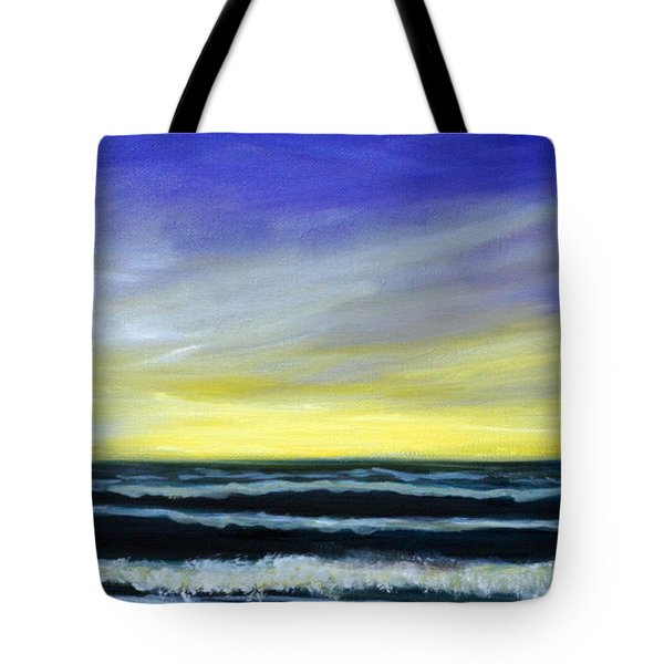Morning Star And The Sea Oceanscape Tote Bag