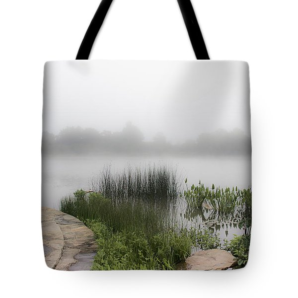 Morning Summer Mist Tote Bag