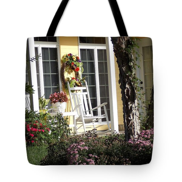 Tote Bag featuring the photograph Morning Sun by John Glass