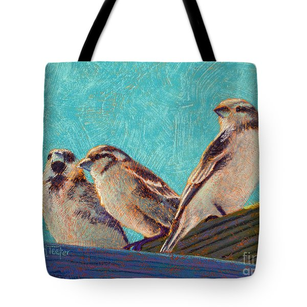 Morning Sunshine Tote Bag by Tracy L Teeter
