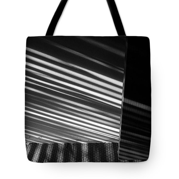Morning Sunstripes Tote Bag