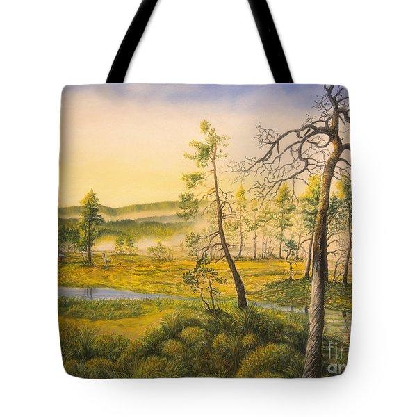 Morning Swamp Tote Bag