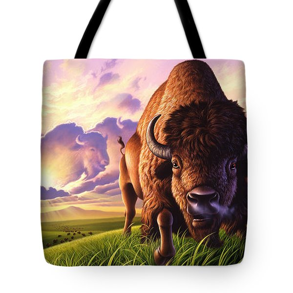 Morning Thunder Tote Bag by Jerry LoFaro