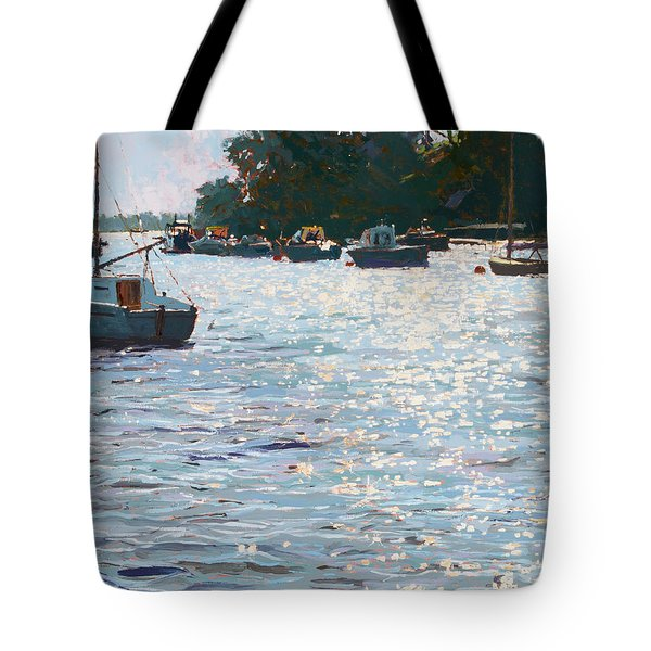 Morning Tide Tote Bag by Martin Decent