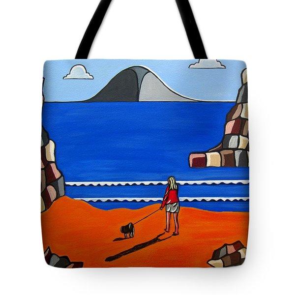 Morning Walk Tote Bag by Sandra Marie Adams