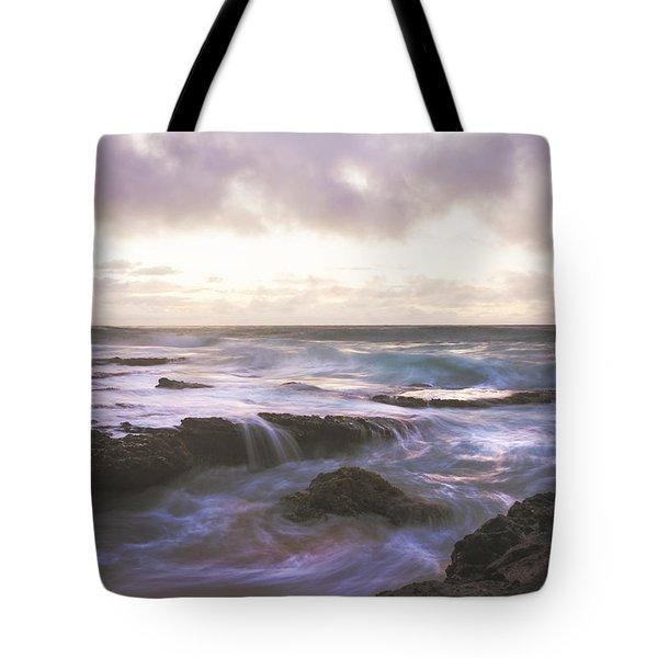 Morning Waves Tote Bag by Brian Harig