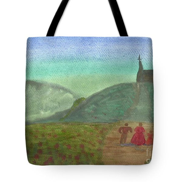 Morning Worship Tote Bag