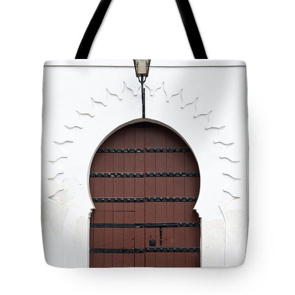 Moroccan Door Tote Bag