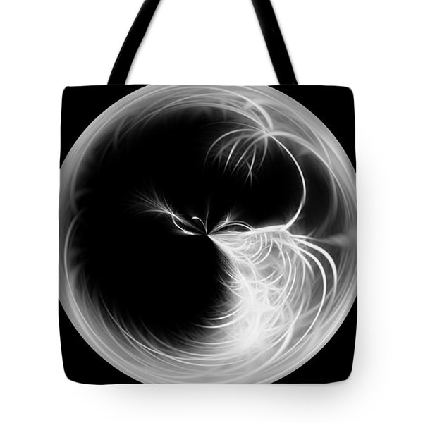 Morphed Art Globe 13 Tote Bag by Rhonda Barrett
