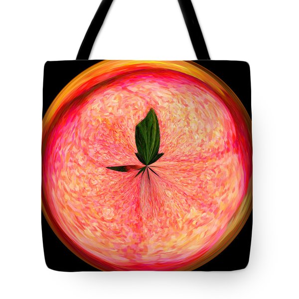 Morphed Art Globe 23 Tote Bag by Rhonda Barrett