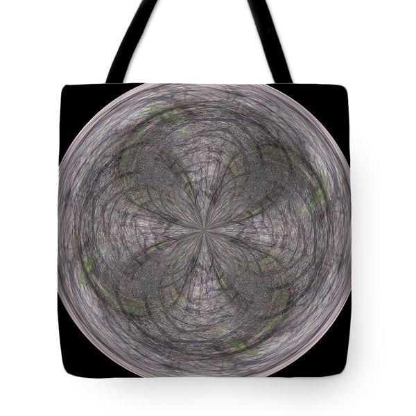 Morphed Art Globe 26 Tote Bag by Rhonda Barrett