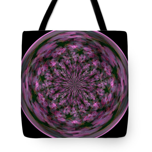 Morphed Art Globe 28 Tote Bag by Rhonda Barrett