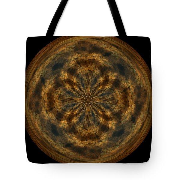 Morphed Art Globe 29 Tote Bag by Rhonda Barrett