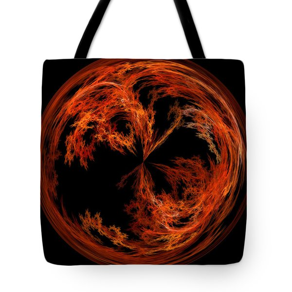 Morphed Art Globe 37 Tote Bag by Rhonda Barrett