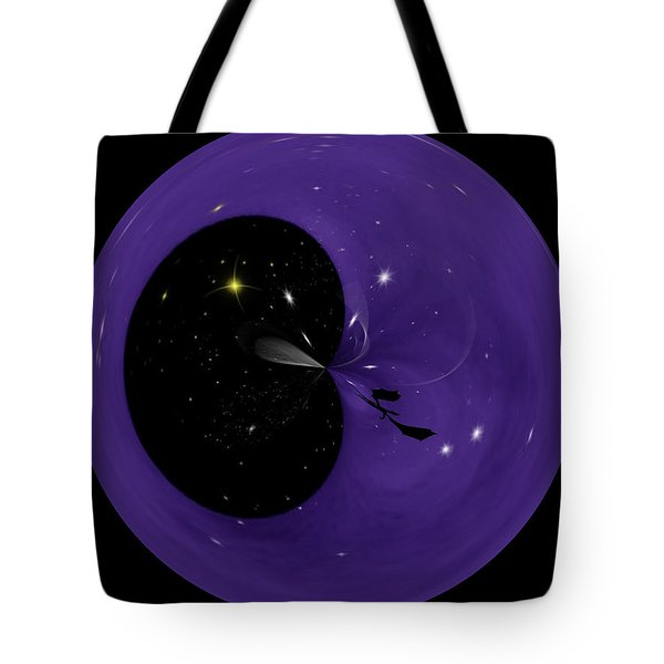 Morphed Art Globe 6 Tote Bag by Rhonda Barrett