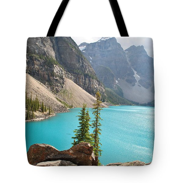 Morraine Lake Tote Bag