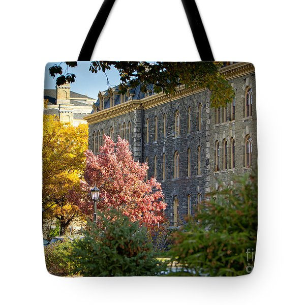 Morrill Hall Cornell University Tote Bag