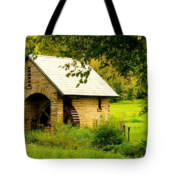 Morris Pumphouse Tote Bag