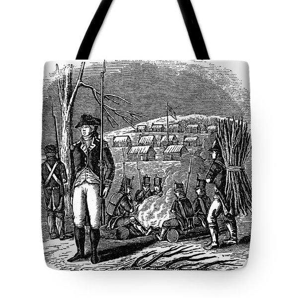 Morristown: Encampment Tote Bag by Granger