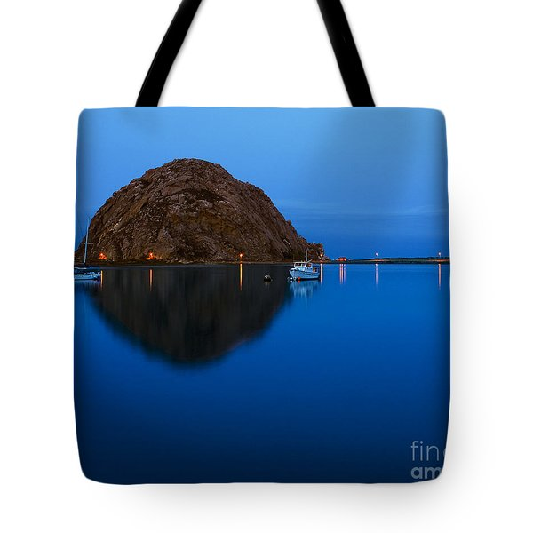 Morro Bay Calm Morning Tote Bag