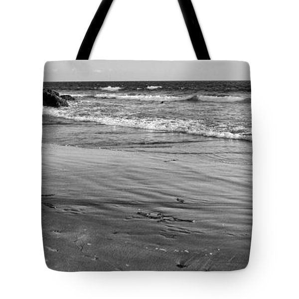 Morro Beach Walk Tote Bag