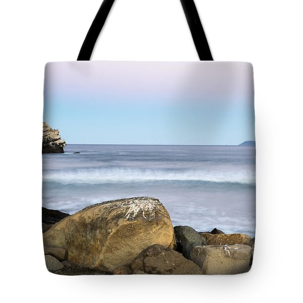 Morro Rock Morning Tote Bag