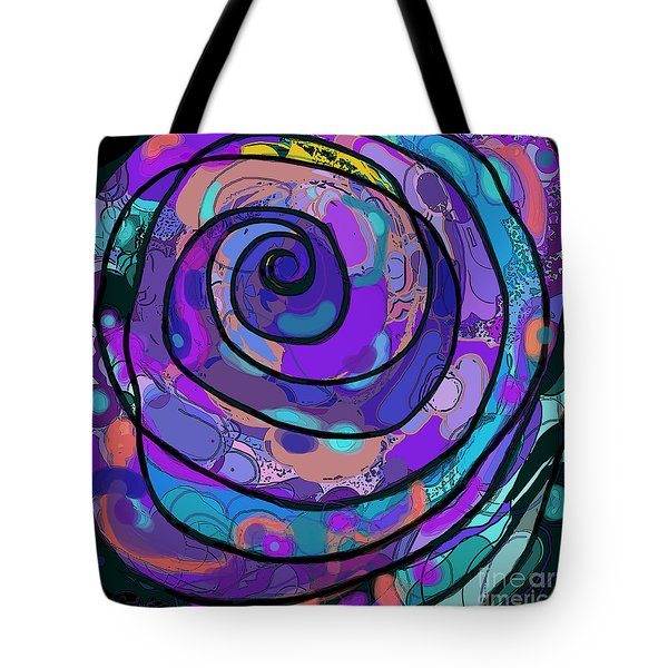 Mortal Coil Tote Bag by Carol Jacobs
