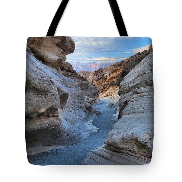 Mosaic Canyon Twilight Tote Bag by Adam Jewell