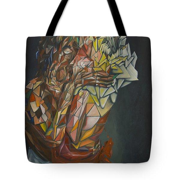 Mosaic Embrace Tote Bag