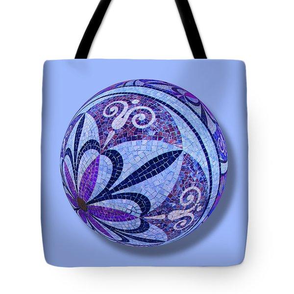 Mosaic Orb 1 Tote Bag by Tony Rubino