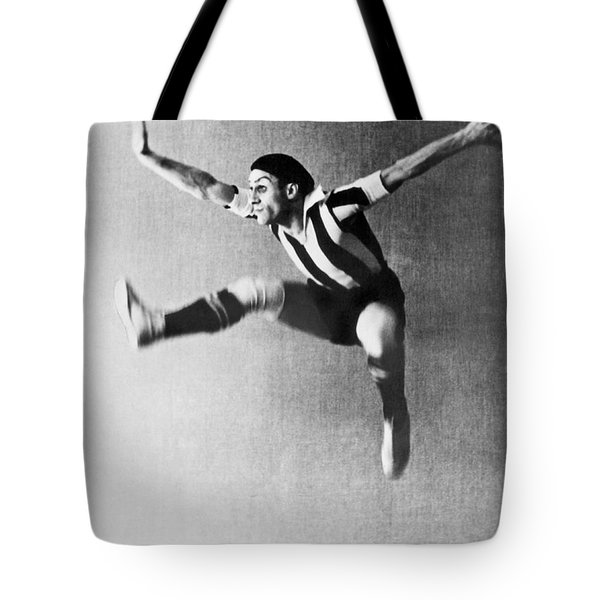 Moscow Opera Ballet Dancer Tote Bag by Underwood Archives