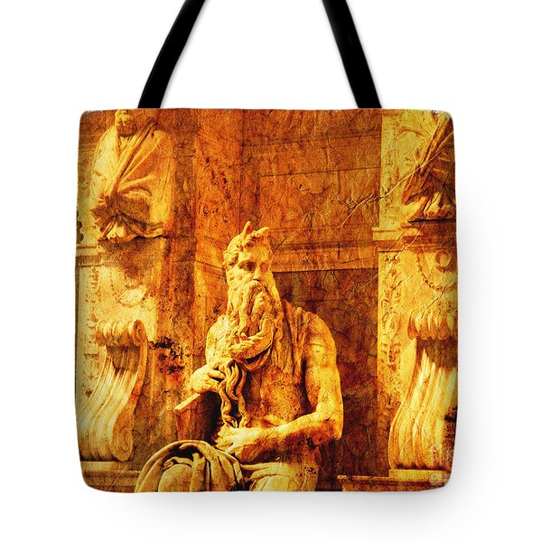 Moses Tote Bag by Stefano Senise
