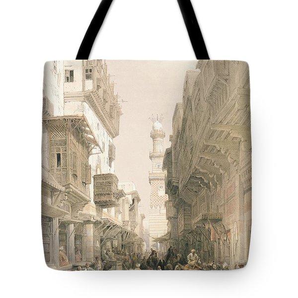 Mosque El Mooristan Tote Bag by David Roberts