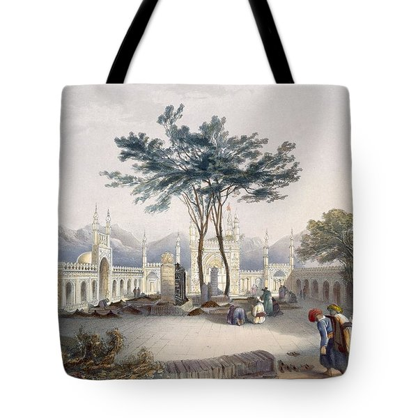 Mosque Of Goolaum Hoossein Huzrut-jee Tote Bag by James Rattray