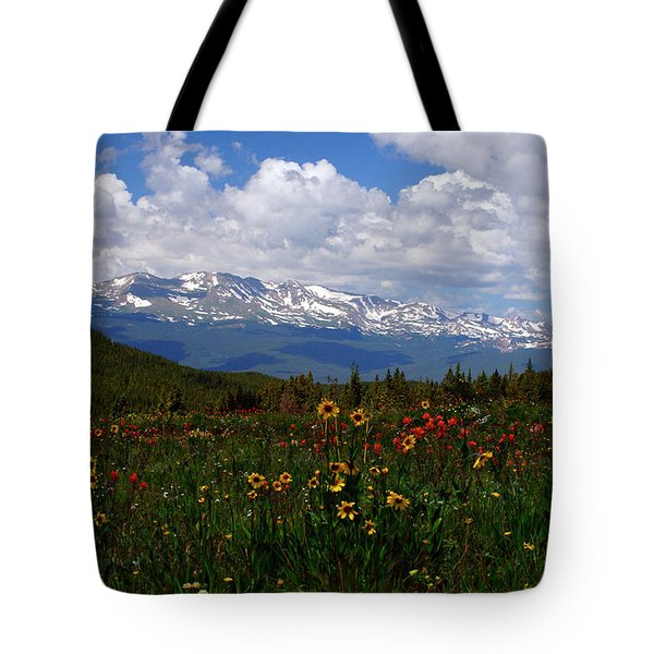 Mosquito Sunflowers Tote Bag by Jeremy Rhoades
