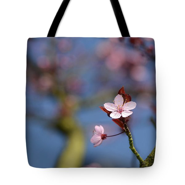 Moss And Blossoms Tote Bag by Lisa Knechtel